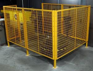 machine barrier guarding